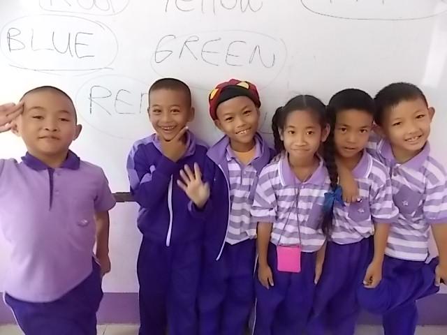 Tailandas, mokinukai